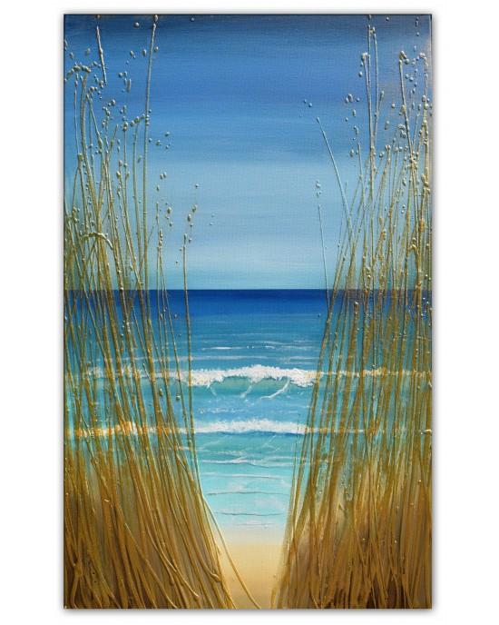 Peeking Through the Sea Grass