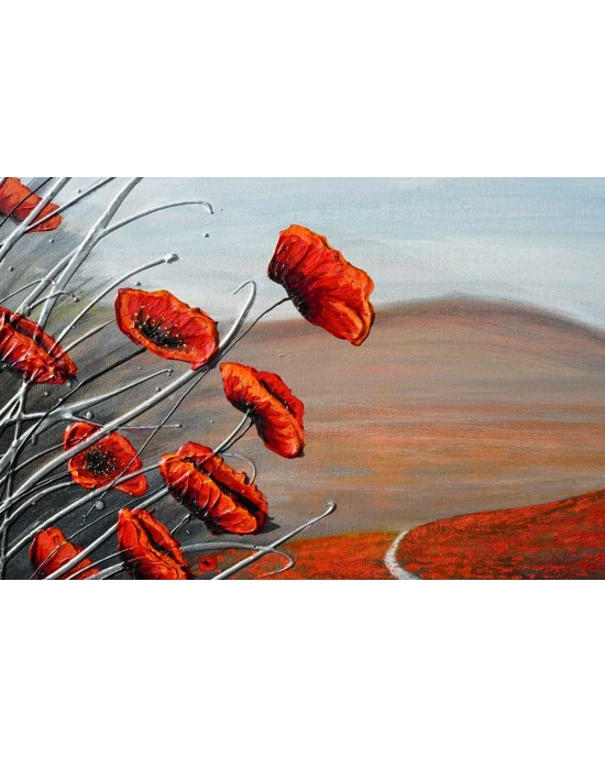 The Walk through the Poppies