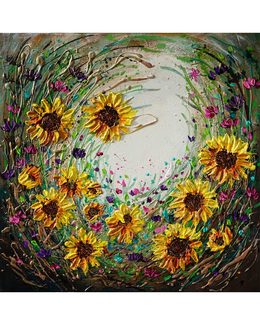 Delightful Sunflowers