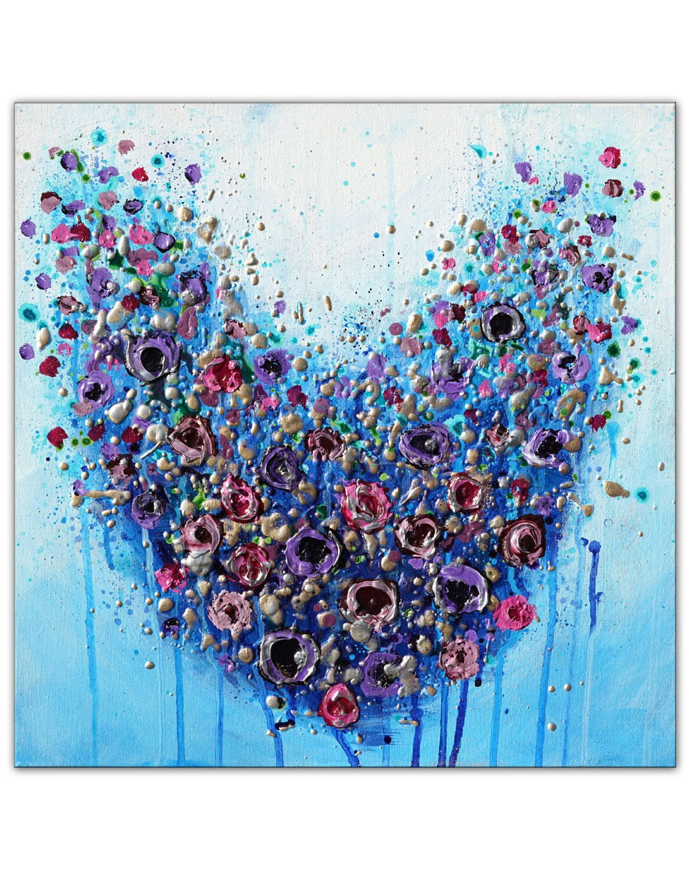 Floral Heart Delight