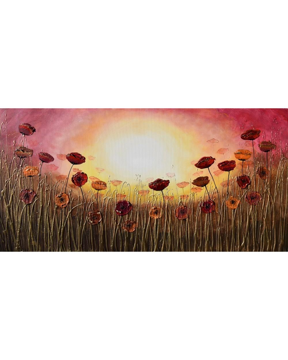 Autumn Sunshine Poppies