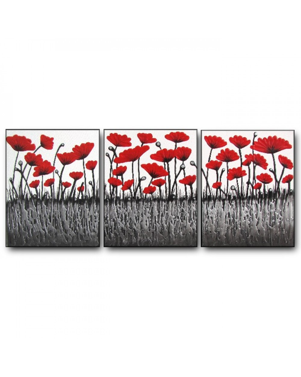 Bright Red Poppy Party