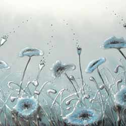 amanda dagg original poppy paintings floral flower art