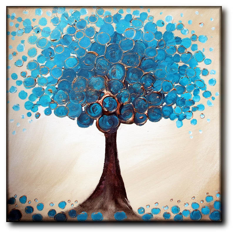 Teal Rich Tree